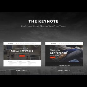 The Keynote – Conference / Event / Meeting WordPress Theme