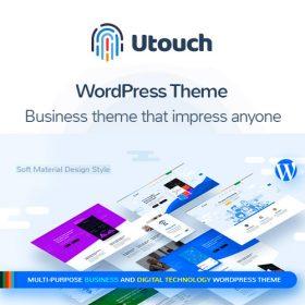 Utouch Startup – Multi-Purpose Business and Digital Technology WordPress Theme