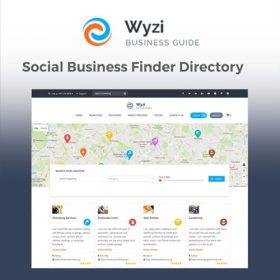 Wyzi – Business Finder WordPress Directory Listing Theme