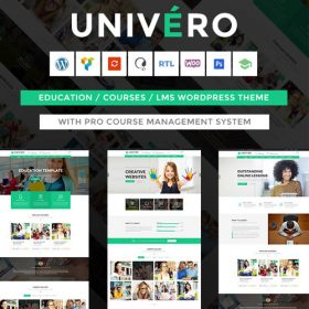 Univero   Education LMS & Courses WordPress Theme