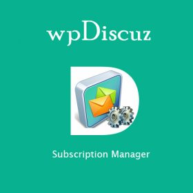 wpDiscuz - Subscription Manager