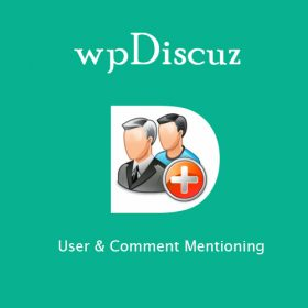 wpDiscuz - User & Comment Mentioning