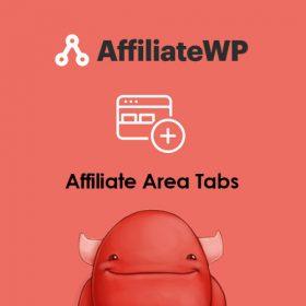 AffiliateWP Affiliate Area Tabs