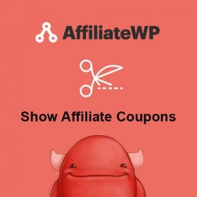 AffiliateWP Show Affiliate Coupons