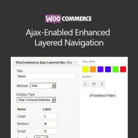 WooCommerce Ajax-Enabled Enhanced Layered Navigation