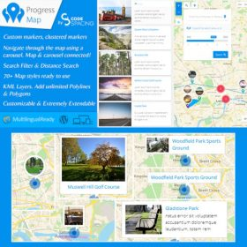 Progress Map WordPress Plugin