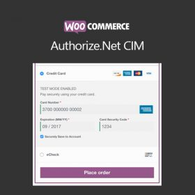 WooCommerce Authorize.Net CIM