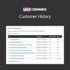 WooCommerce Customer History