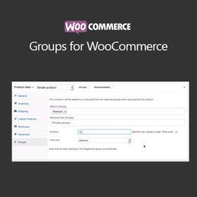 WooCommerce Groups for WooCommerce