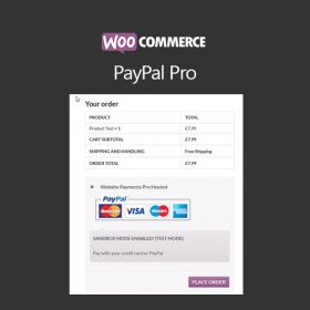 WooCommerce PayPal Pro