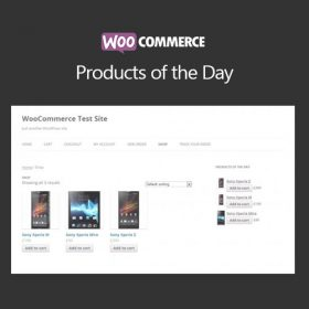 WooCommerce Products of the Day
