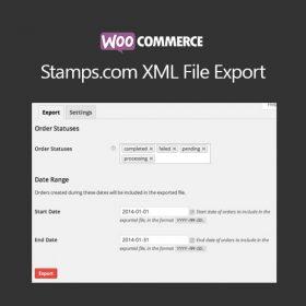 WooCommerce Stamps.com XML File Export