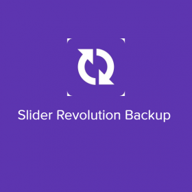 Slider Revolution Backup