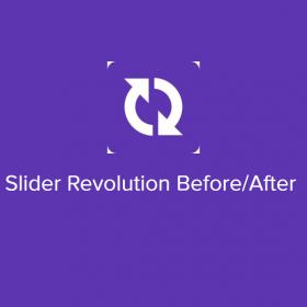 Slider Revolution Before/After