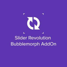 Slider Revolution Bubblemorph