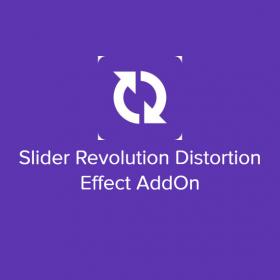 Slider Revolution Distortion Effect