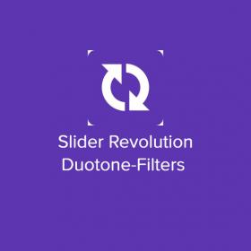 Slider Revolution Duotone-Filters