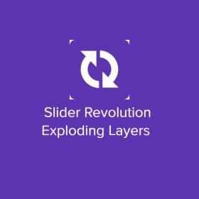 Slider Revolution Exploding Layers