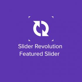 Slider Revolution Featured Slider