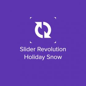 Slider Revolution Holiday Snow