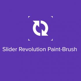 Slider Revolution Paint-Brush
