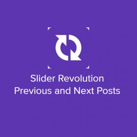 Slider Revolution Previous and Next Posts