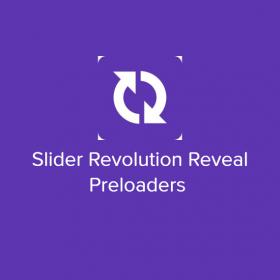 Slider Revolution Reveal Preloaders