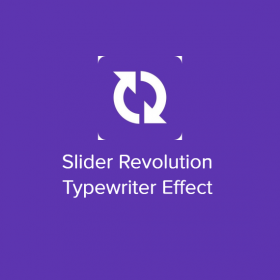 Slider Revolution Typewriter Effect 2.0.3