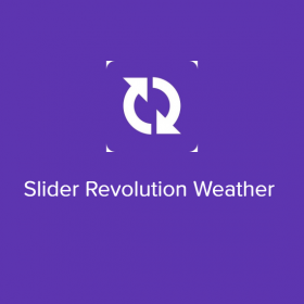 Slider Revolution Weather 2.0.1
