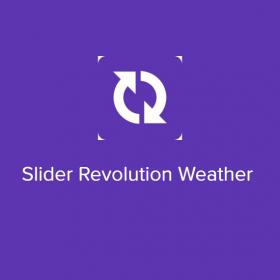 Slider Revolution Weather