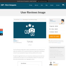 WP Rich Snippets User Reviews Image