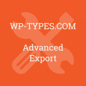 Toolset Advanced Export Addon