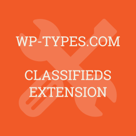 WP Types Classifieds Addon