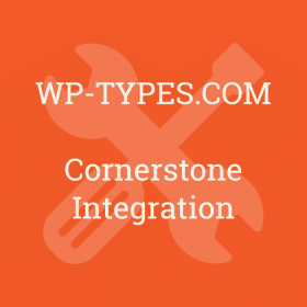 Toolset Cornerstone Integration Addon