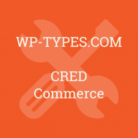 Toolset CRED Commerce Addon