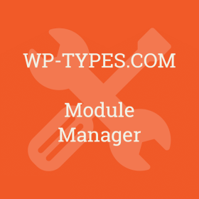 Toolset Module Manager Addon