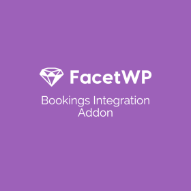 FacetWP Bookings Integration Add-On