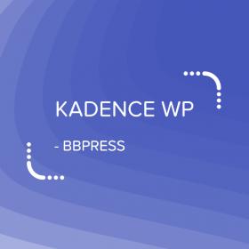 Kadence bbPress Design / Support Forums
