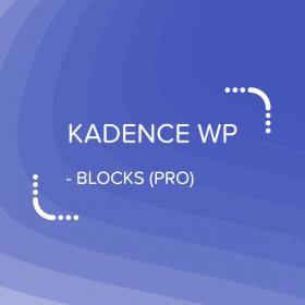 Kadence Blocks - PRO Extension