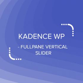 Kadence Fullpane Vertical Slider