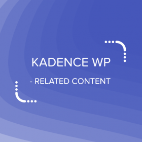 Kadence Related Content