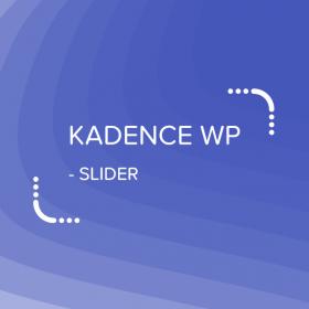 Kadence Slider