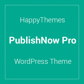 HappyThemes PublishNow Pro 1.0