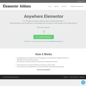 Anywhere Elementor Pro 2.16