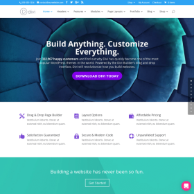 ElegantThemes Divi WordPress Theme + Layouts