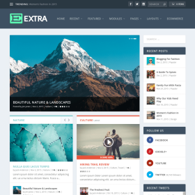 ElegantThemes Extra WordPress Theme