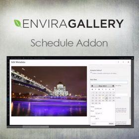 Envira Gallery – Schedule Addon