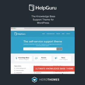 HelpGuru – A Self-Service Knowledge Base WordPress Theme