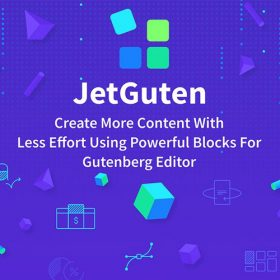 JetGuten — Blocks Set Addon for Gutenberg Editor