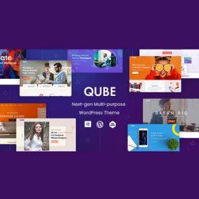 Qube – Responsive Multi-Purpose Theme